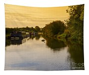 Grand Union Canal In Berkhampsted Tapestry