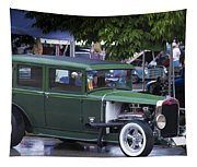 Green Limo Tapestry