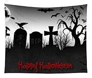 Happy Halloween Tapestry