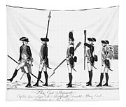 Hessian Soldiers Tapestry