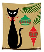 Holiday Cat Tapestry