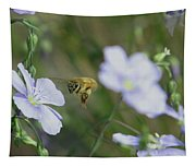 Honeybee At Work  Tapestry
