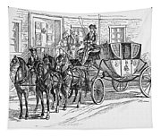 Horse-drawn Coach Tapestry