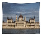 Hungarian Parliament Building Afternoon Tapestry