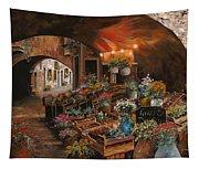 Il Mercato Dei Fiori Tapestry