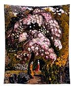 In A Shoreham Garden Tapestry