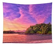 Indian Ocean Sunset Tapestry