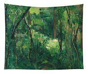 Interior Of A Forest Tapestry