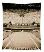 Interior Of The Old Astrodome Tapestry