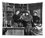Ireland: Vaccination, 1880 Tapestry