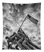 Iwo Jima Memorial Tapestry by Susan Candelario
