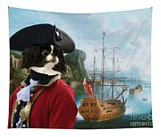 Japanese Chin Art Canvas Print Tapestry