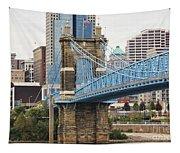 John Roebling Bridge 1867 Tapestry