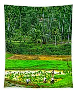 Jungle Homestead Tapestry