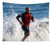 Kelly Slater World Surfing Champion Copy Tapestry