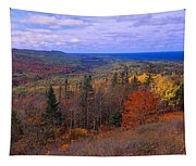 Keweenaw Peninsula And Copper Harbor Tapestry