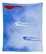 Kites On Ice Tapestry