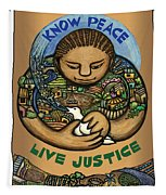 Know Peace Tapestry