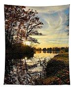 Lake Wausau Sunset Tapestry