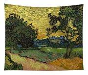 Landscape At Twilight Tapestry
