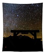 Last Dollar Gate And Milky Way Starry Tapestry