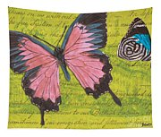 Le Papillon 2 Tapestry
