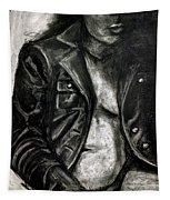Leather Jacket Tapestry