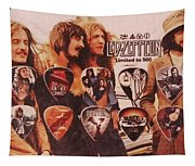 Led Zeppelin Art Tapestry