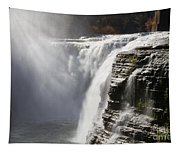 Letchworth High Falls Tapestry