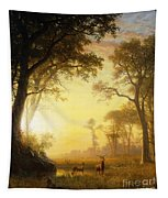 Light In The Forest Tapestry