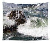 Linda Mar Beach Surf Tapestry