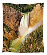 Lower Falls Rainbow Tapestry