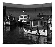 Lynmouth Harbour In Devon Tapestry