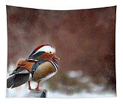 Mandarin Duck Tapestry