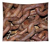Many Rusty Links Tapestry