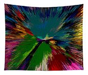 Mardi Gras Abstract Tapestry