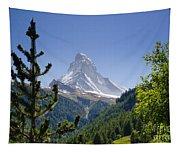 Matterhorn In Zermatt Tapestry