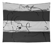 Max Women In Black And White Tapestry