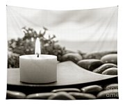 Meditation Candle Tapestry