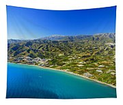 Mediterranean Sea From The Air Tapestry