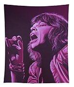 Mick Jagger 2 Tapestry by Paul Meijering