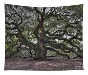 Mighty Live Oak Tree On James Island Tapestry