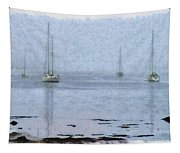 Misty Sails Upon The Water Tapestry