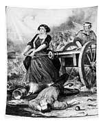 Molly Pitcher (c1754-1832) Tapestry