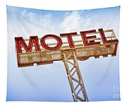 Motel Sign Tapestry
