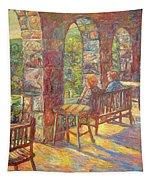 Mountain Lake Evening Tapestry