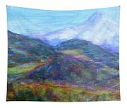 Mountain Patchwork Tapestry