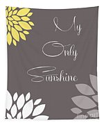 My Only Sunshine Peony Flowers Tapestry