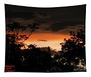 Mystic Sunset Tapestry