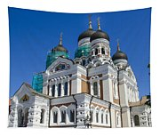 Nevsky Cathedral - Tallin Estonia Tapestry